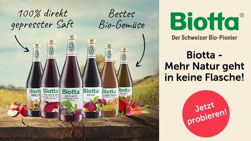 Biotta – Mehr Natur geht in keine Flasche!