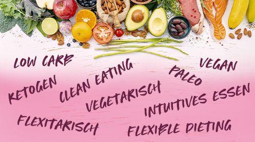 Ernährungsformen - Finde die Richtige für dich und deinen Lifestyle