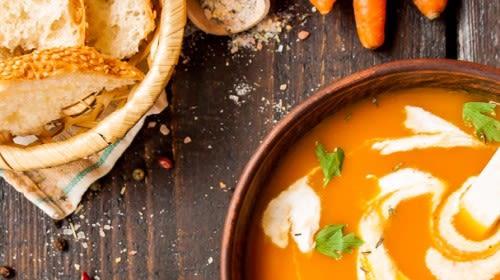 Goji-Möhren-Suppe