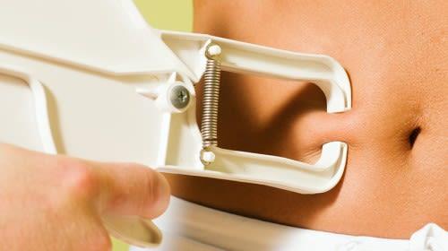 Körperfett richtig messen - Caliper Methode