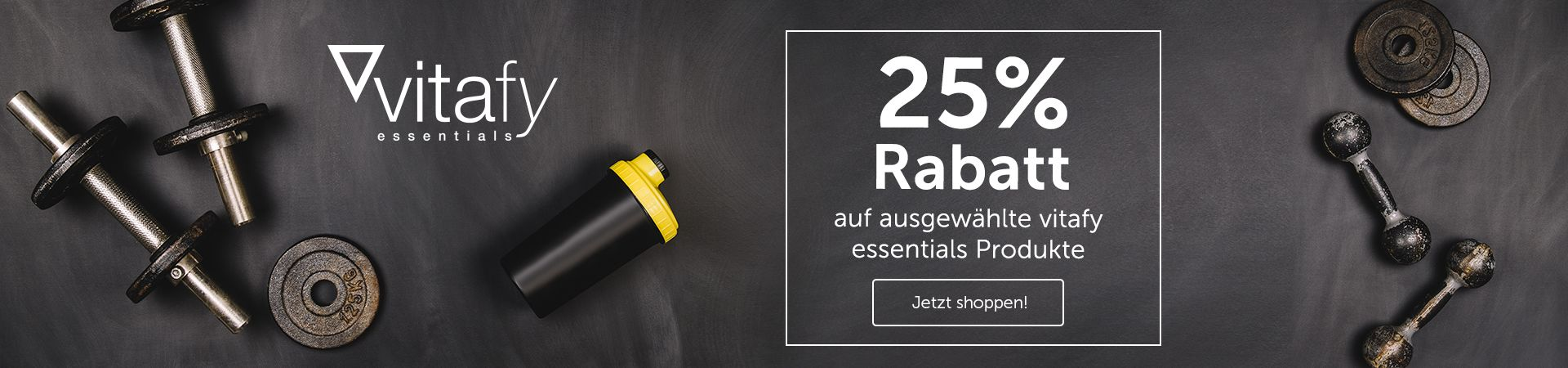 Beste Deals vitafy essentials 25 proz