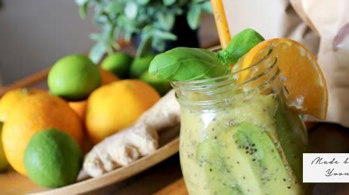 Mango-Kiwi-Smoothie