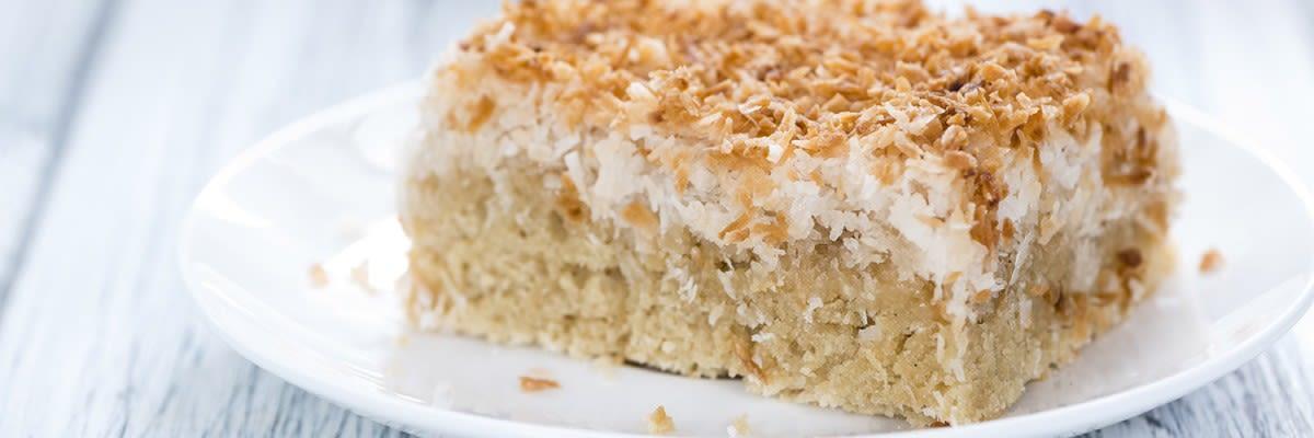 Zuckerfreier Quark Kokos Kuchen Vitafy De