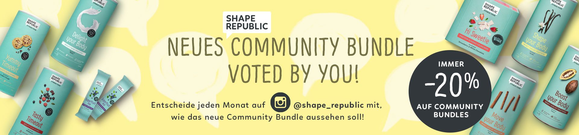 Neues Community-Bundle voted by you!