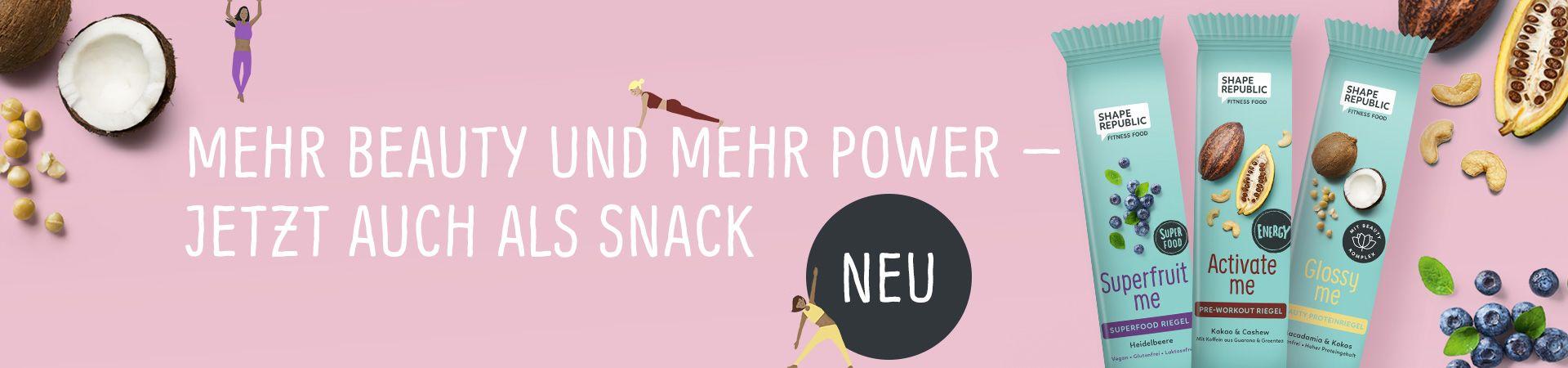 Mehr Beauty und mehr Power - jetzt auch als Snack