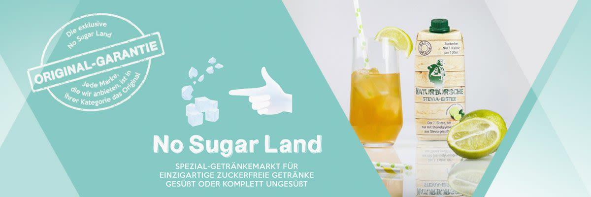No Sugar Land - Dein Getränkemarkt für zuckerfreie Getränke
