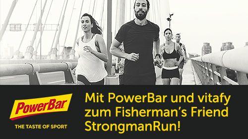 Gewinnspiel: Mit PowerBar zum Fisherman's Friend StrongmanRun 2018 in Köln!
