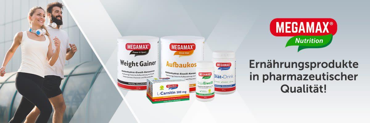 Megamax - Ernährungsprodukte in pharmazeutischer Qualität