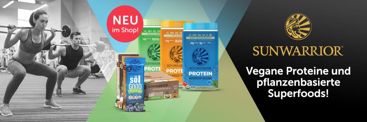 SunWarrior - Vegane Proteine und pflanzenbasierte Superfoods!