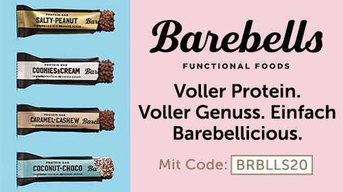 Barebells - Proteinreicher Genuss. Ohne Reue und schlechtes Gewissen.