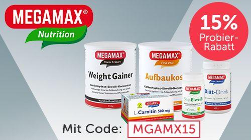 MEGAMAX - Hochwertige Ernährungsprodukte in pharmazeutischer Qualität