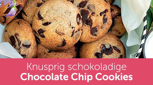Schokoladige Chocolate Chip Cookies - aus dem Xucker Backbuch