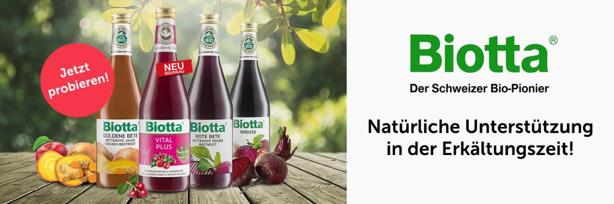 Biotta - Natürlicher Genuss in der Erkältungszeit