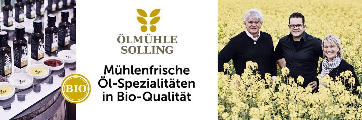 Ölmühle Solling - Mühlenfrische Öl-Spezialitäten in Bio-Qualität