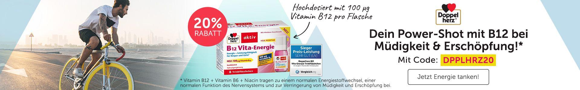 Doppelherz B12 Vita Energie für noch mehr Power im Alltag!