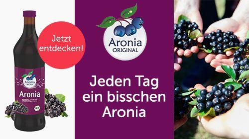 Aronia ORIGINAL – Bio Produkte aus der heimischen Superfrucht Aronia