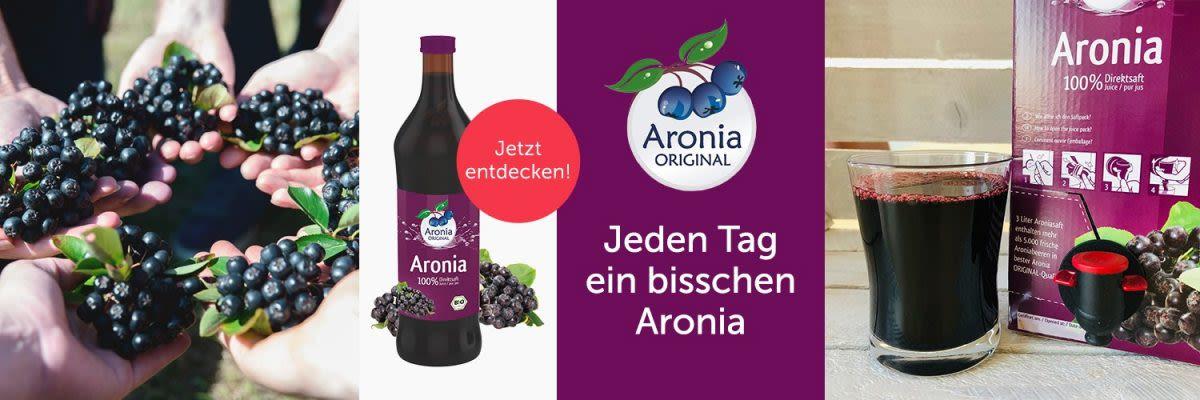 ARONIA Original - Jeden Tag ein bisschen Aronia!