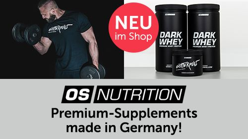 OS NUTRITION – Premium Supplements made in Germany