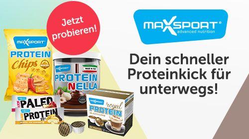 Max Sport - Dein schneller Proteinkick für unterwegs!