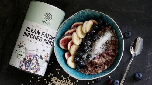 Clean Eating Bircher Müsli a lá Nadia Damaso