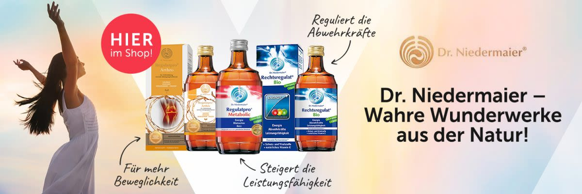 Dr. Niedermaier Regulatprodukte.