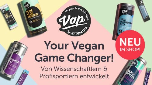 VAP Nutrition - Deine vegane Superfood-Matrix!