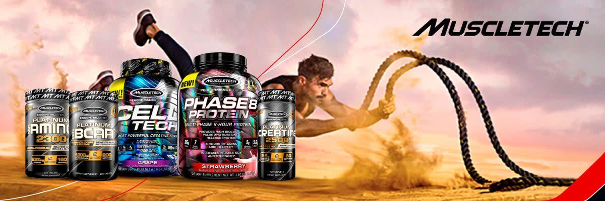 MuscleTech: Spreng die Ketten deines Potenzials!