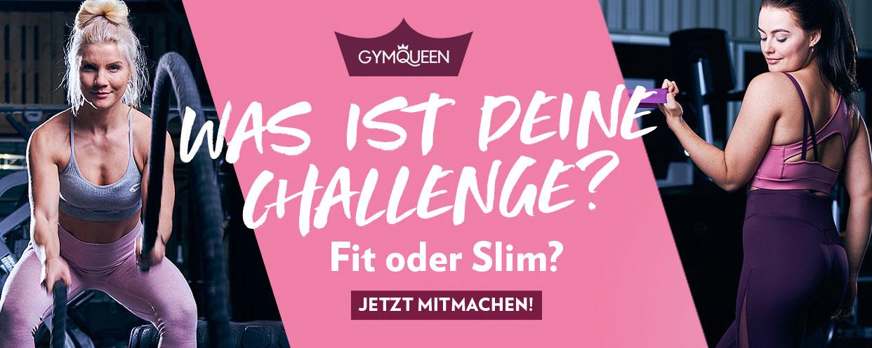 Was ist deine Challenge - Fit oder Slim