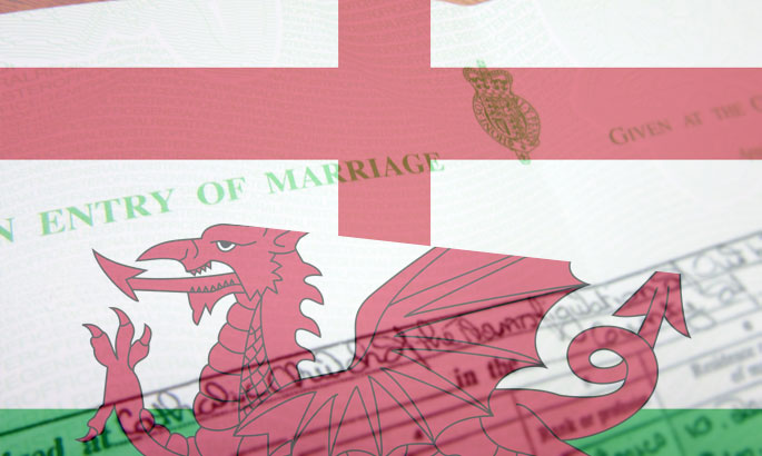 marriage certificates england wales