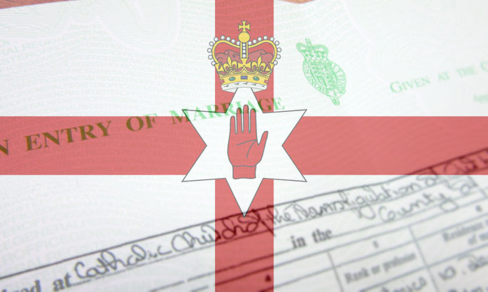 marriage certificates northern ireland