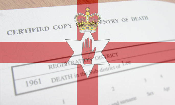 death certificates northern ireland