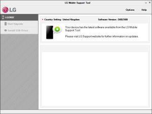 Прошивка Android через компьютер на примере LG