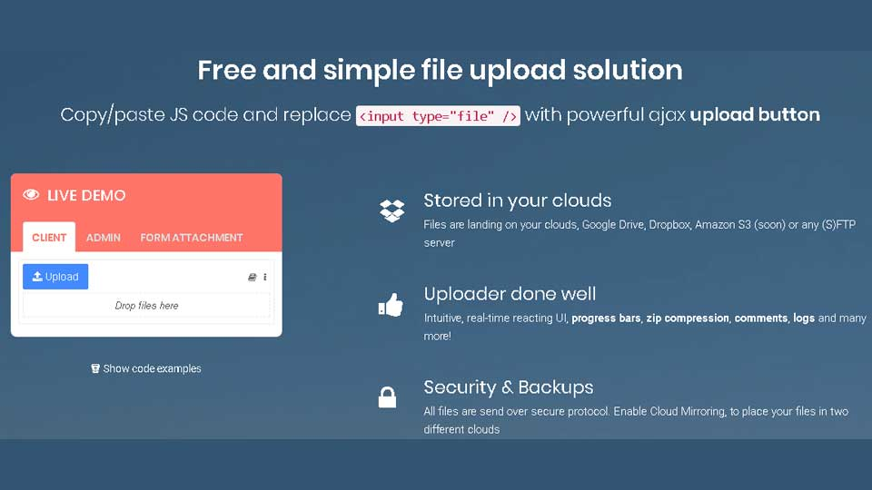 enable file upload on your website
