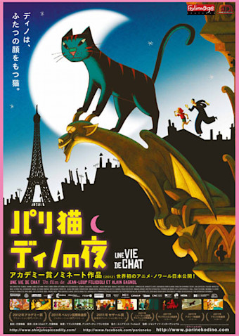 パリ猫ディノの夜