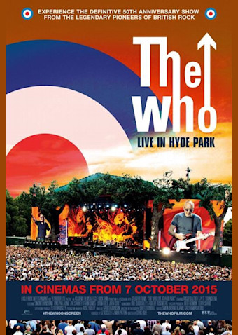 THE WHO ザ・フー LIVE IN HYDE PARK