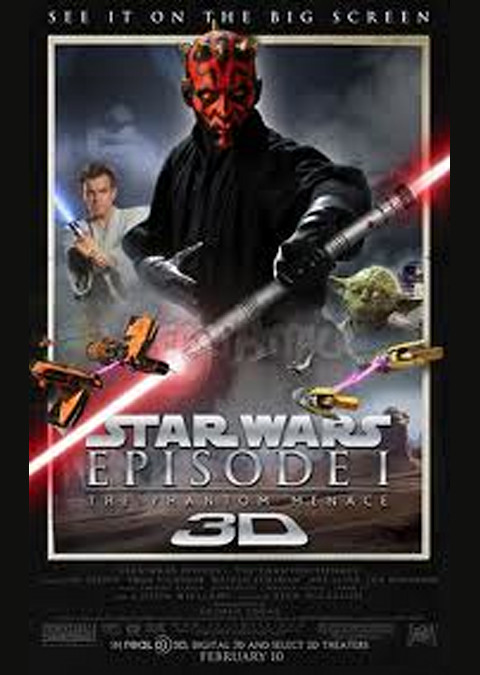 STAR WARS エピソード1 ファントム・メナス 3D
