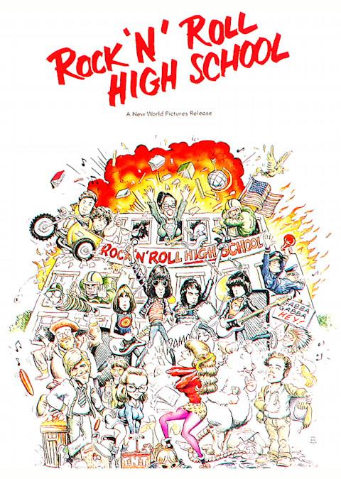 ロックンロール・ハイスクール (1979)