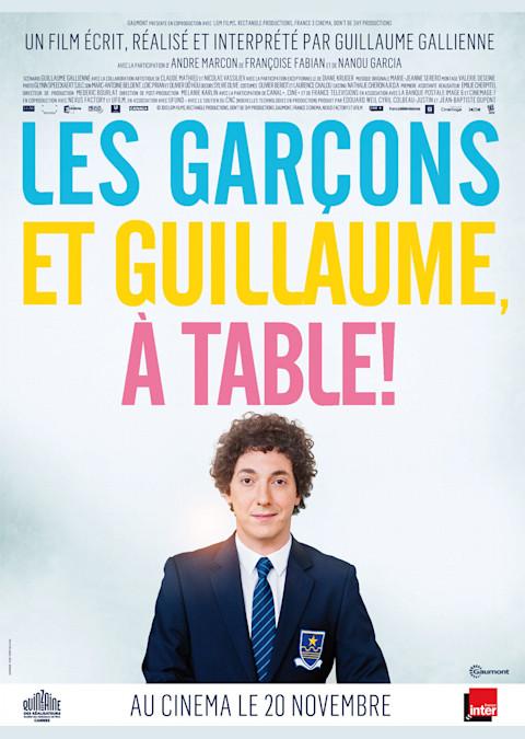 Les garçons et Guillaume, à table!