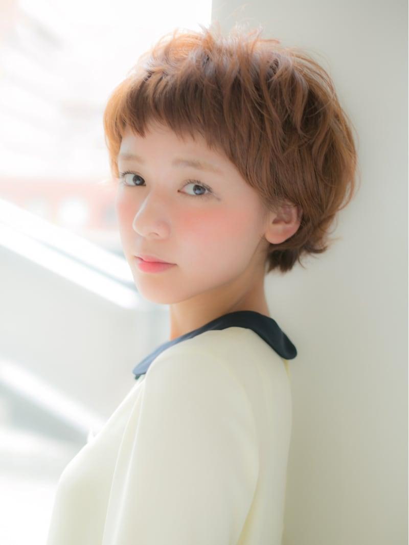 可愛いショートヘアスタイルを集めたへカタログ 表参道 美容室 Euphoria aoyama(ユーフォリア アオヤマ)
