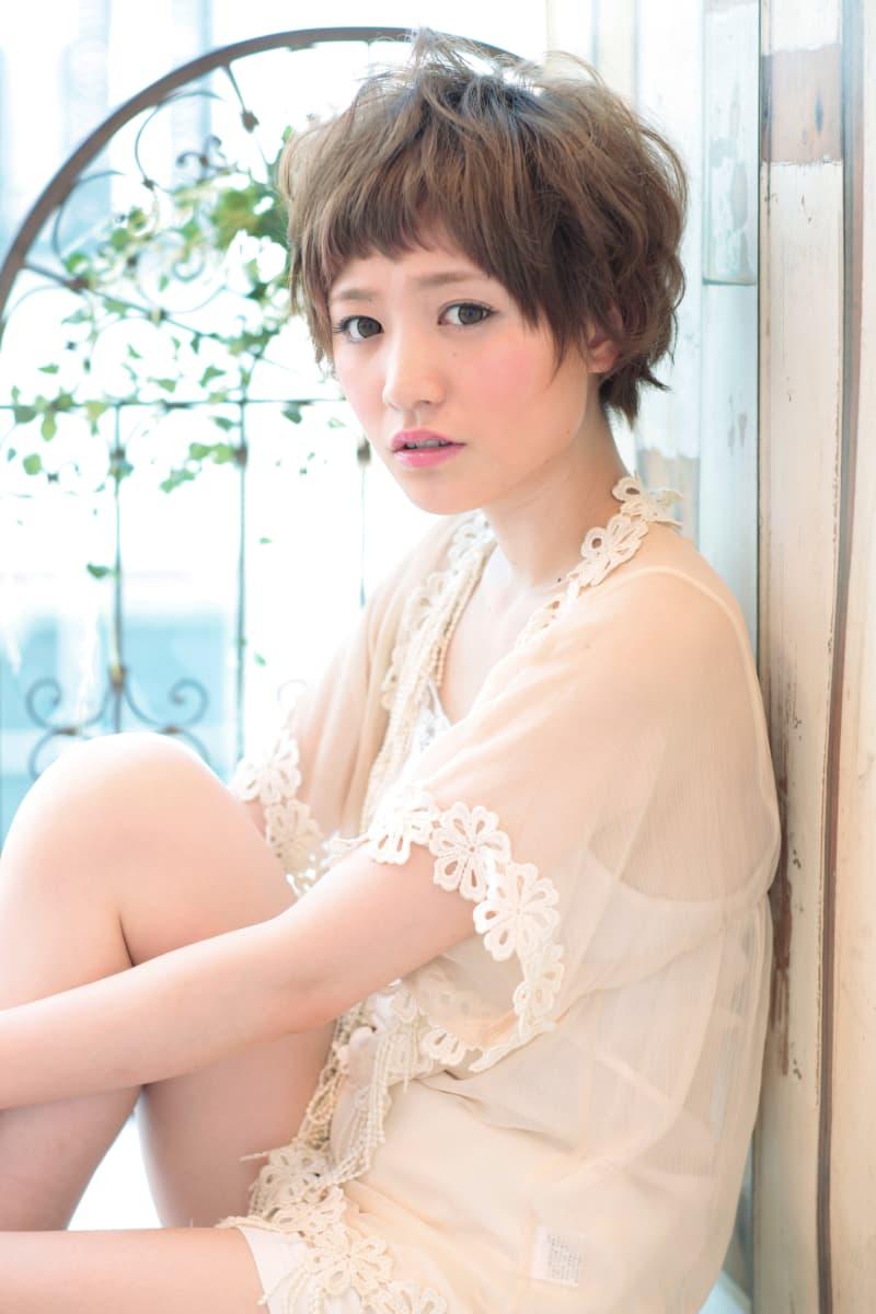 春にしたいナチュラルなショートヘアカタログ 表参道 美容室 Secret(シークレット)