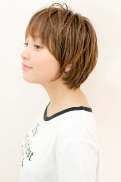 【hair coucou】毛束感がきれいなショート