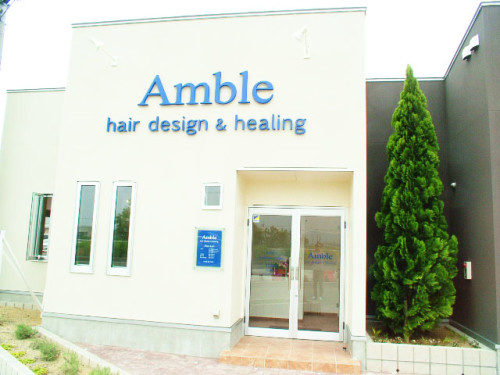 Amble hair design&healing 古正寺店