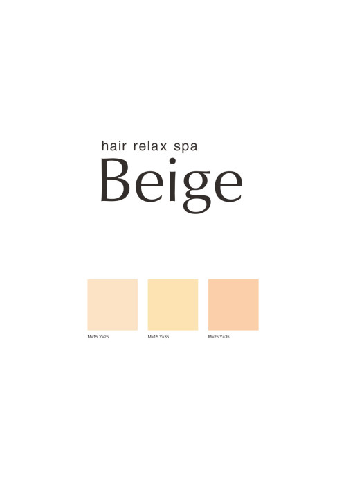 hair relax spa Beige 恵比寿