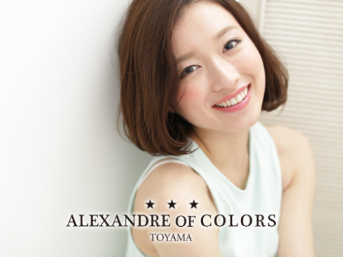 ALEXANDRE OF COLORS TOYAMA