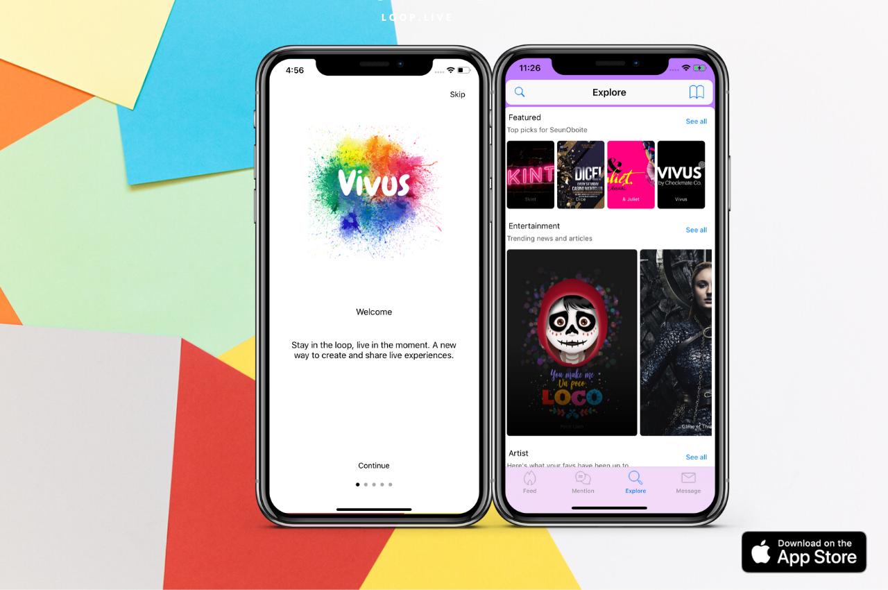 Vivus hub app