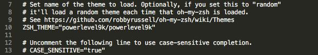 Càiđặt Oh My Zsh và trangtrí cho iTerm bằng powerlevel9k