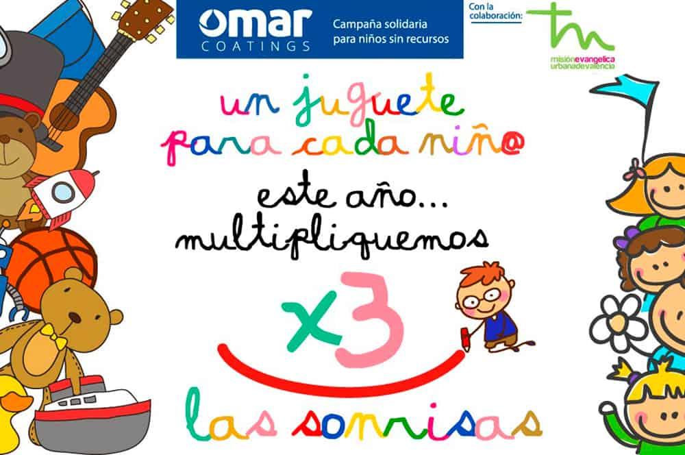 """Iniciamos la Campaña Solidaria: """"Un juguete para cada niñ@"""" 300 sonrisas para 2019"""