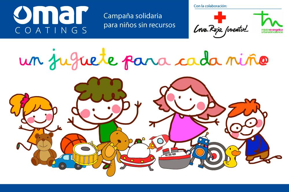 campaña solidaria 2017 omar coatings