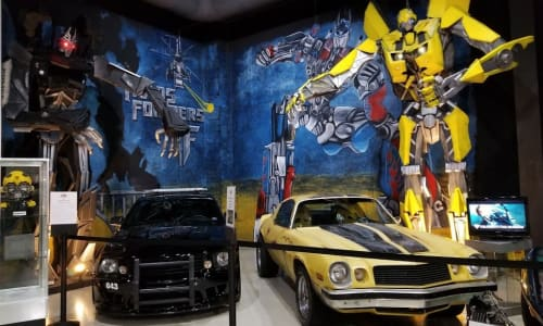 Transformers at Branson's Celebrity Car Museum