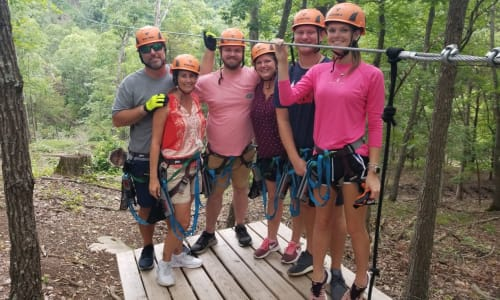 Have Fun at Shepherd of the Hills Zipline Canopy Tours
